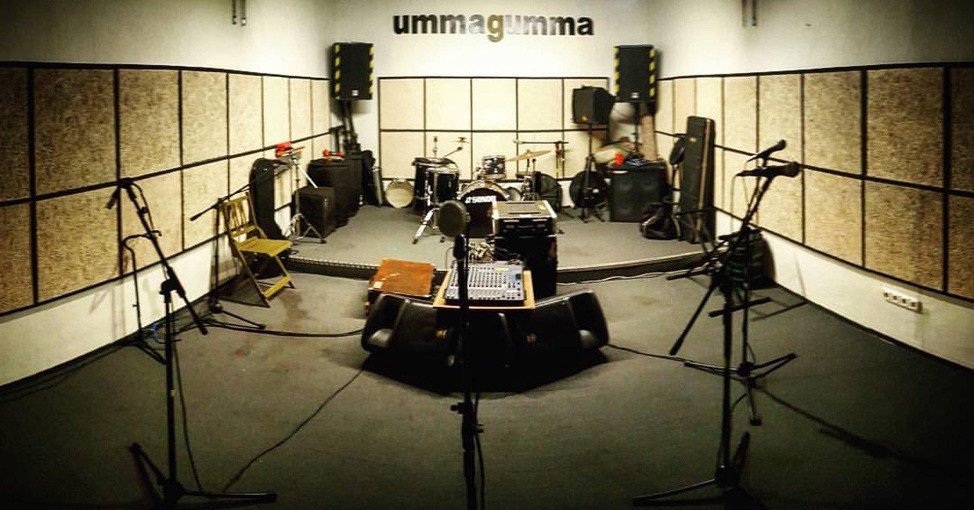 Ummagumma club de ensayo sala grande y con micros