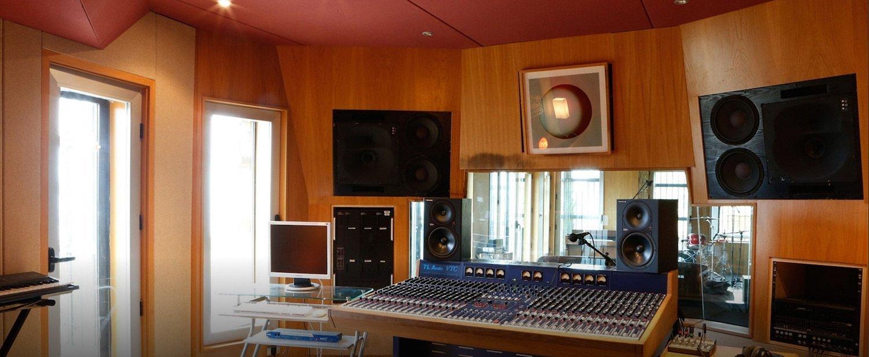 Casa Estudio sala de grabación