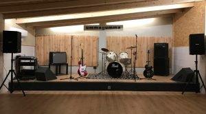 Sala escenario Ummagumma Club de ensayo